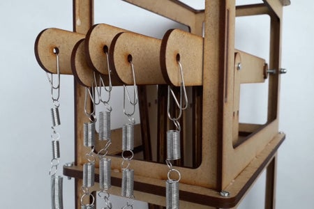 The Magnifying Levers and Spring Holders (3rd Floor)