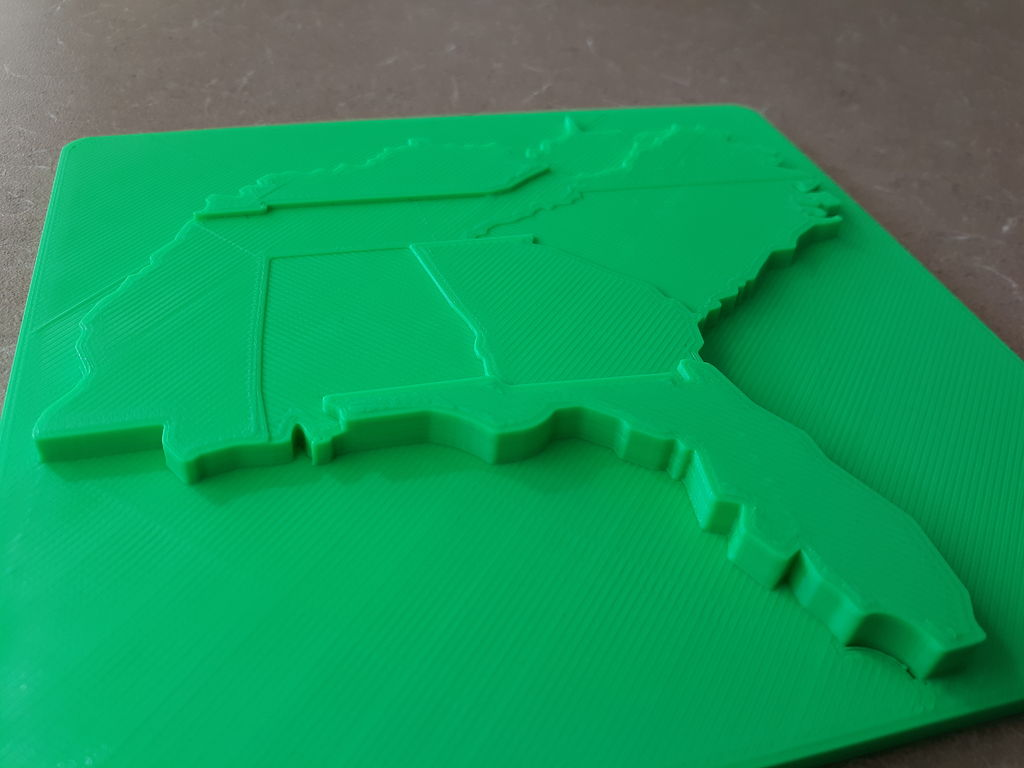 Picture of Using a Topographic Map to Teach Transportation STLs (Grades 9-12)