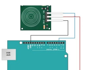 Touch Sensor With Arduino