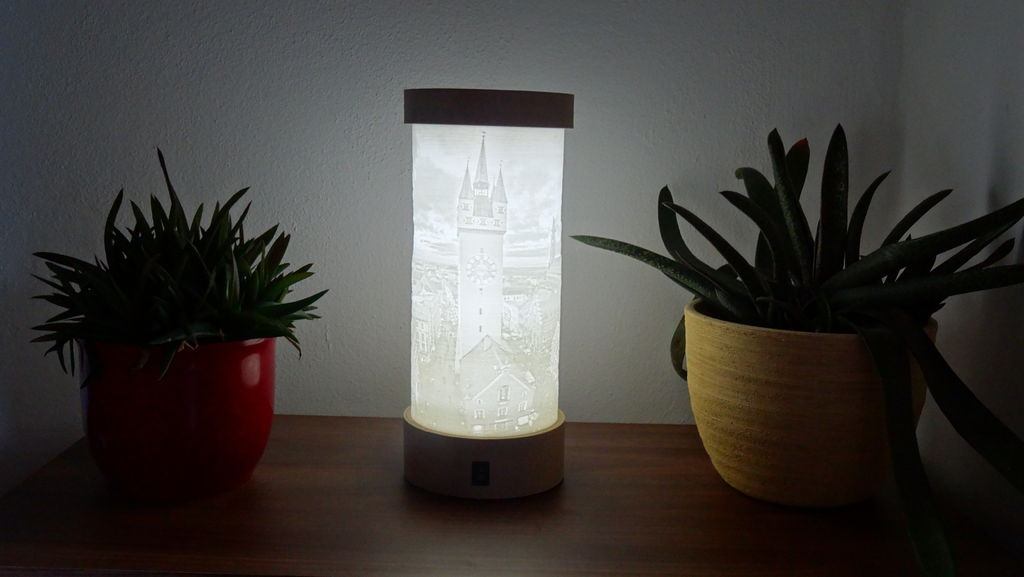 Picture of Creating Your Own Lithophane Lamp With Your Own Picture