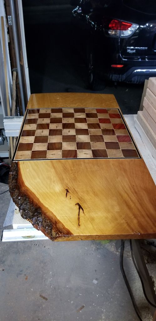 Picture of Live Edge Chessboard