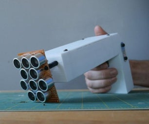 Ultrasonic Sound Gun (Parametric Speaker)