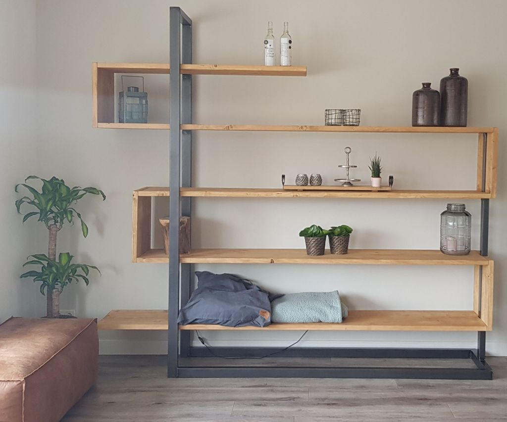 Industrial Bookshelf Cabinet 7 Steps With Pictures