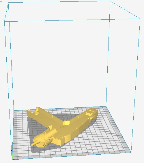 Picture of 3D Printing the Phaser Body
