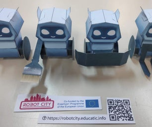 Robot City Mascot