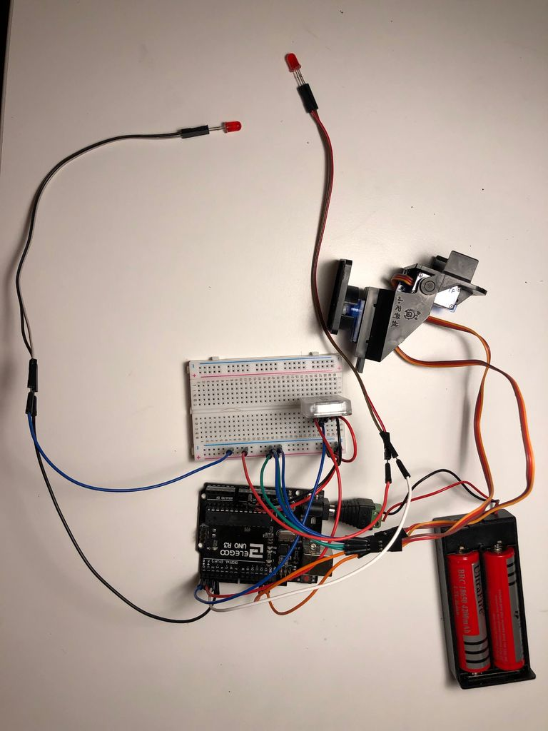 Picture of Assemble the Electronic Part