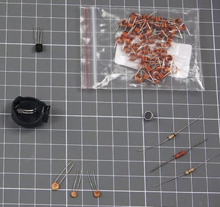 We Collect All the Needed Components and Soon Begin to Assemble