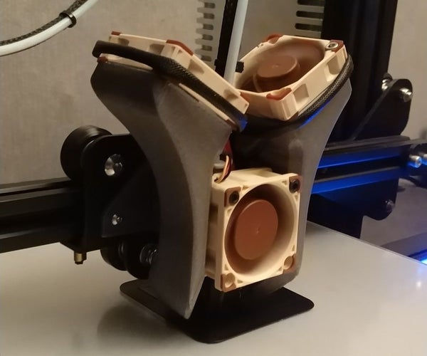 Ender 3 - Silent Fan Replacement Guide