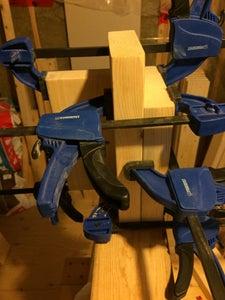 Assemble Leg Supports
