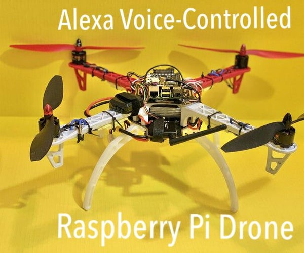 Alexa Voice Controlled Raspberry Pi Drone With IoT and AWS