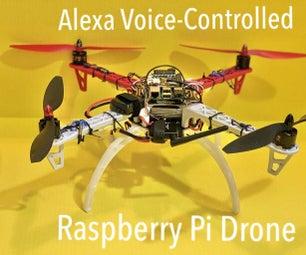 Alexa的语音控制树莓派无人机物联网和AWS
