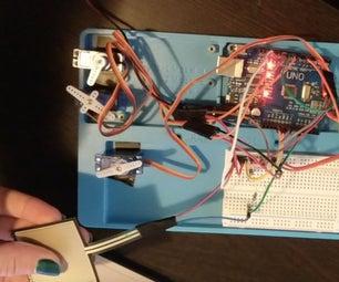 Pressure Sensor & Servo Prototype