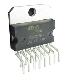 Connect L298N IC to Arduino