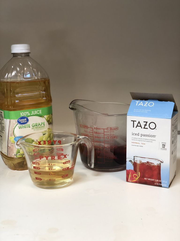 Picture of Combine Tea and Juice