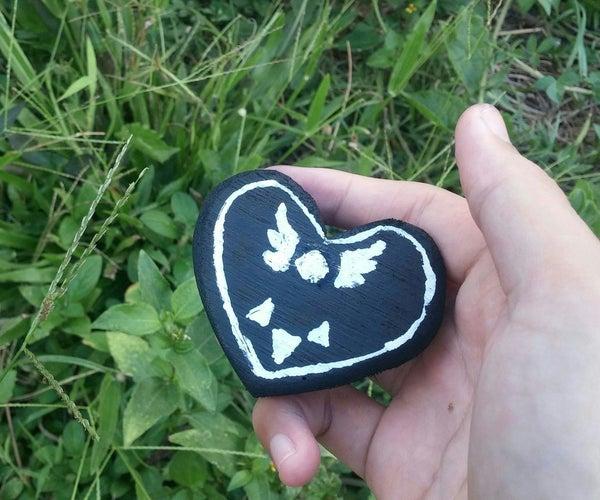 Deltarune Heart Logo DIY