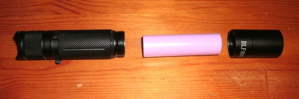 Picture of Disassemble the Flashlight
