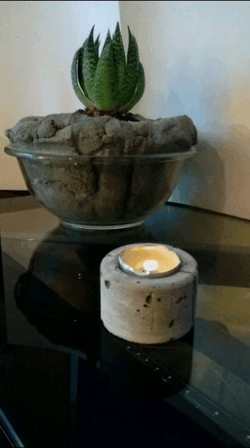 Picture of ShapeCrete-3D Printed Mold for a Votive Candle Holder