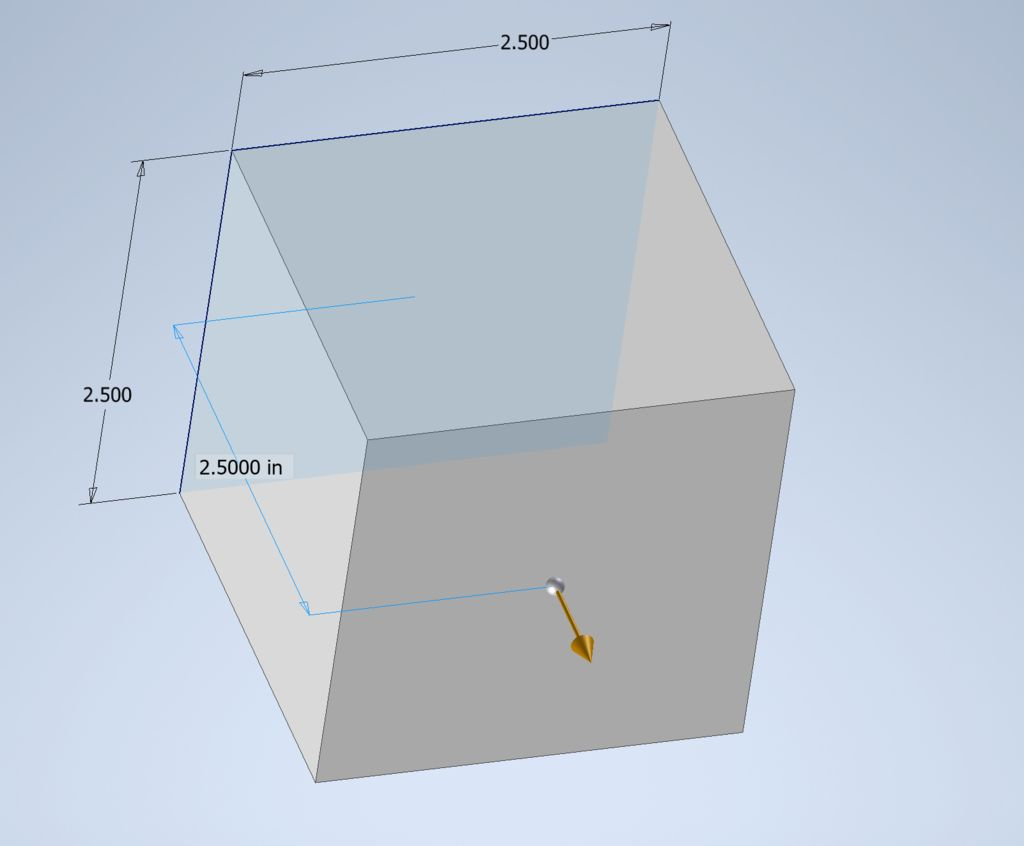 Picture of Make Base of Cube