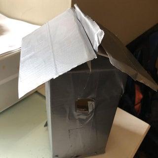 Duct Tape Birdhouse