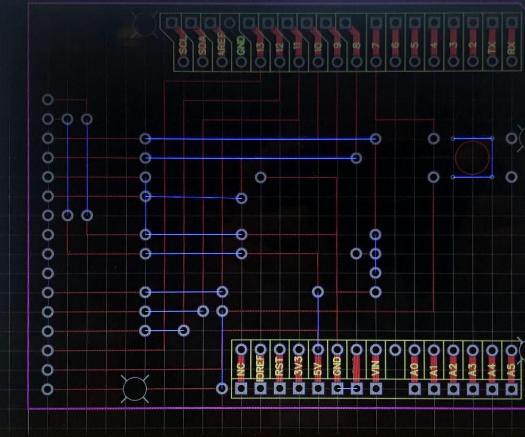 Arduino Endless Runner Pcb