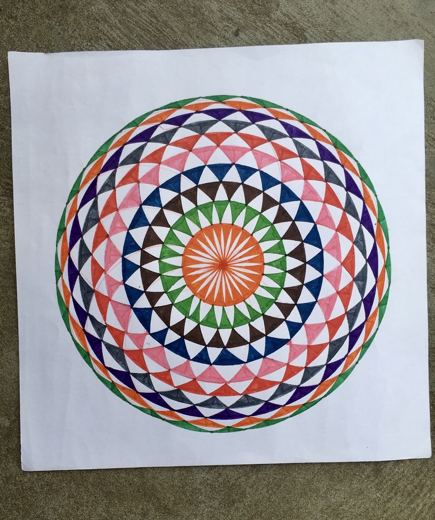 Picture of MANDALA - COLOURING