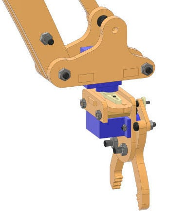 Picture of Completing the Gripper Assembly