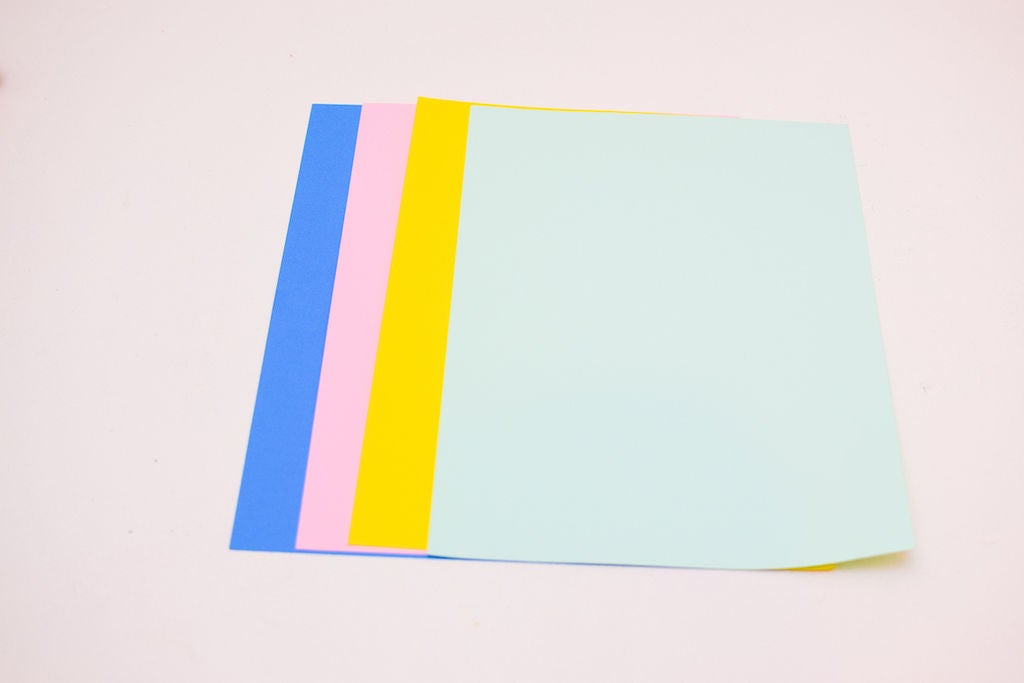 Picture of Get Different Coloured Stock Card Paper