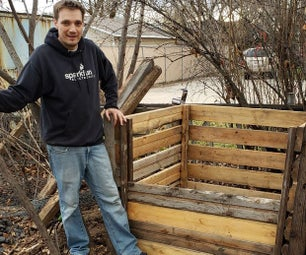 家庭堆肥 - 清理庭院垃圾