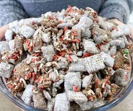 Christmas Puppy Chow | Muddy Buddies