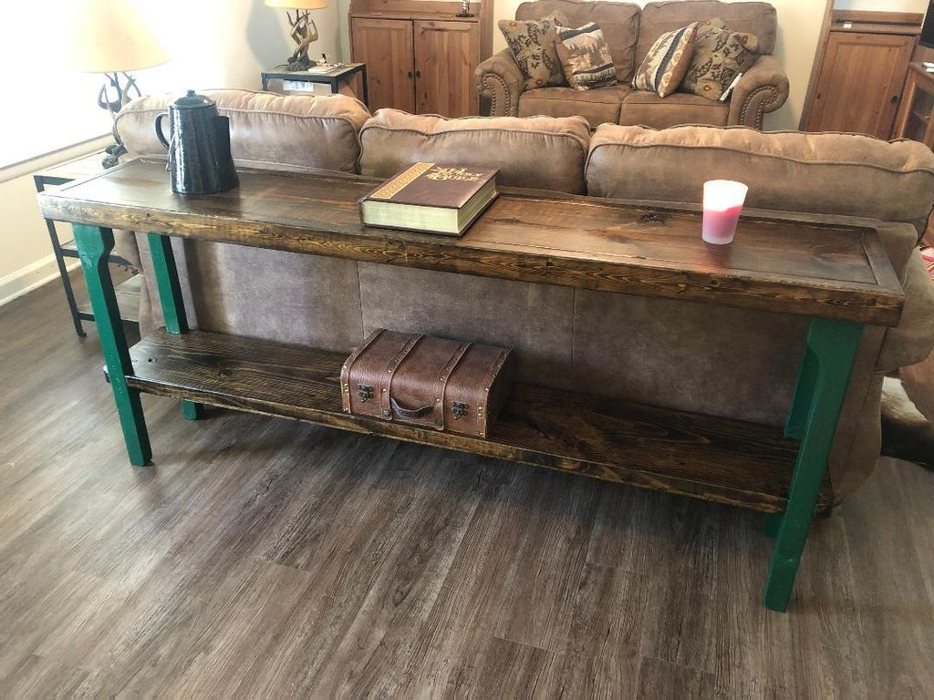 Picture of How to Build a Sofa Table