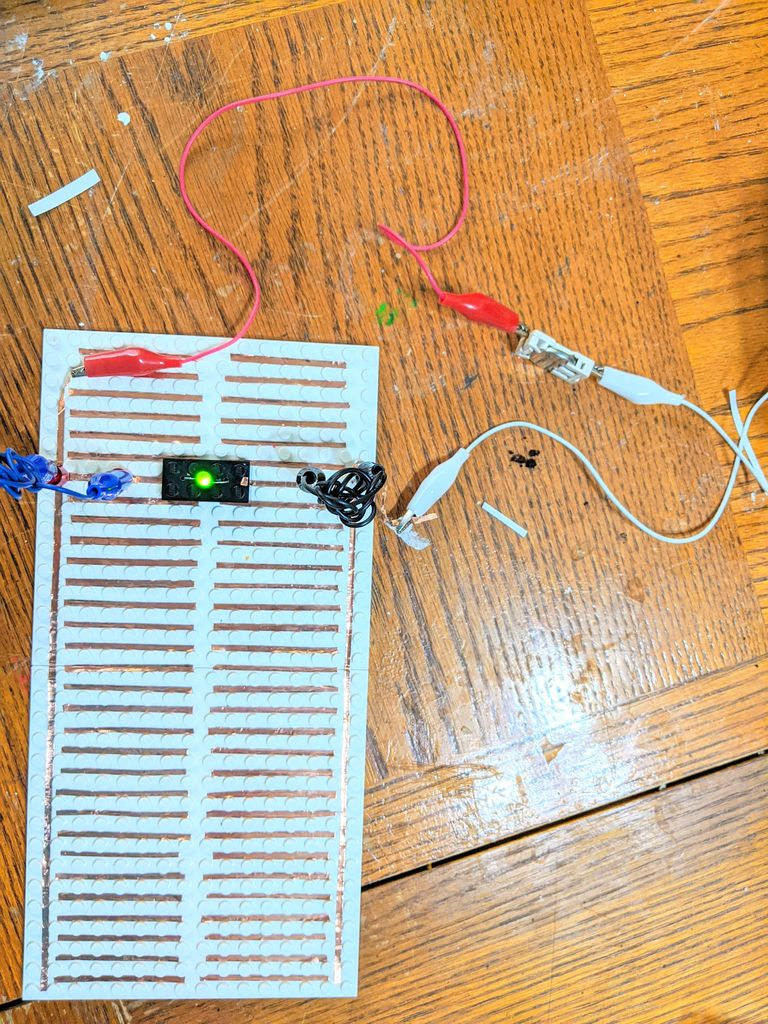Picture of Making a LEGO Breadboard