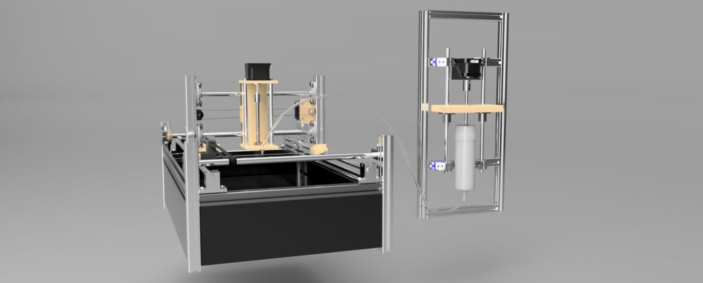 Picture of CNC 3D Food Printer