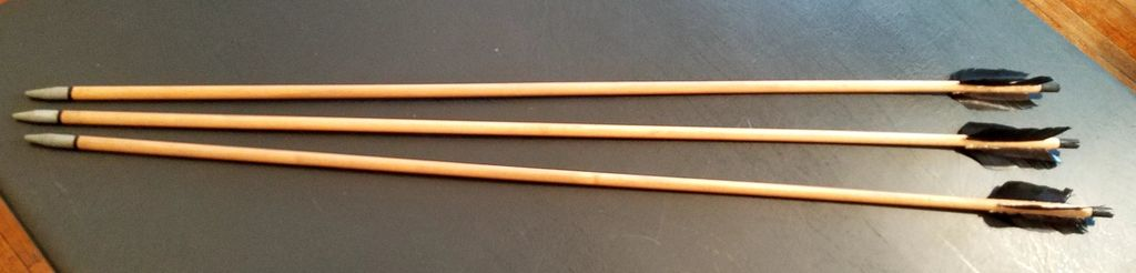Picture of Arrows - a How to for Costume Arrows