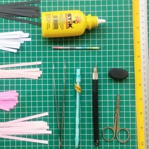 Flamingo Paper Quilling Home Decor Idea