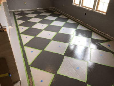 Painting the Checker Board Pattern
