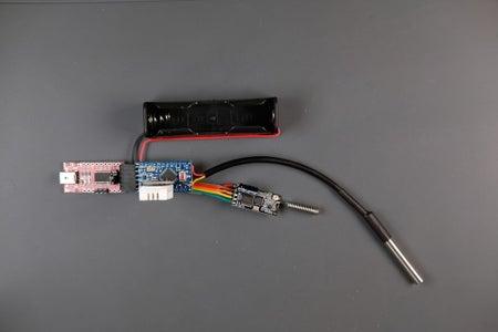 Assembling the Node - Connecting FTDI Programmer
