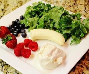 Gluten Free Vanilla Berry Kale Smoothie