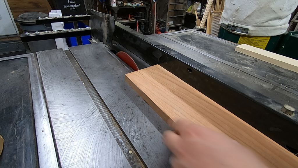 Picture of Cutting the Wood to Width