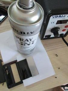 Spray on the LCD