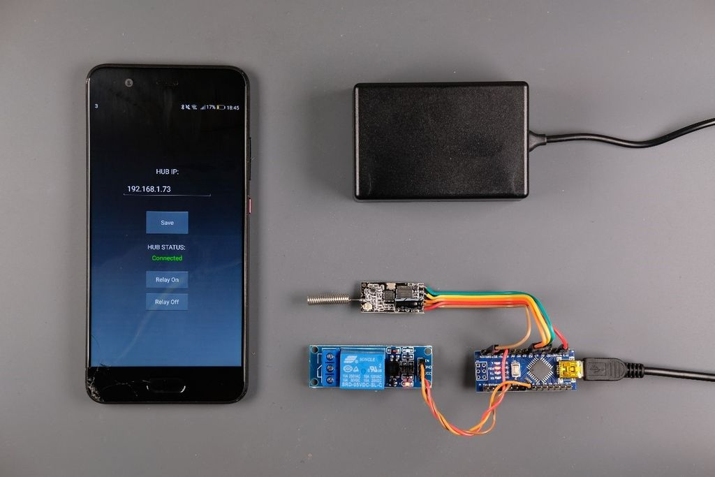 Picture of Easy IOT – App Controlled RF Sensor Hub for Medium Range IOT Devices