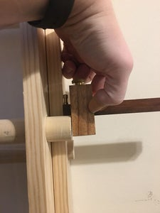 Mounting & Assembly of the Top Ladder