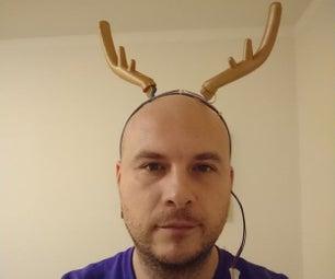 丑陋的驯鹿移动式喇叭