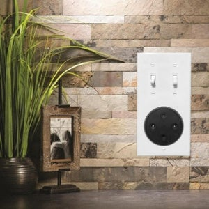 Smart Assistant Flush Mount Light Switch Box Assembly (Echo Dot 2nd Gen)