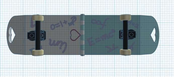 Picture of Steps7:Decorate the Skateboard