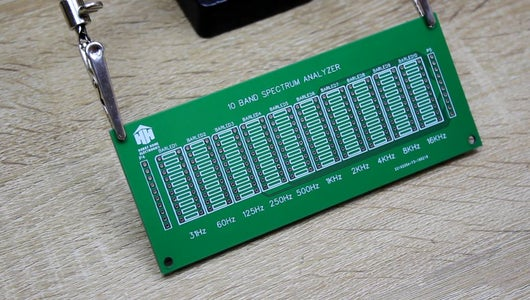 Installation of Radio Components on the PCB of the LED Matrix.
