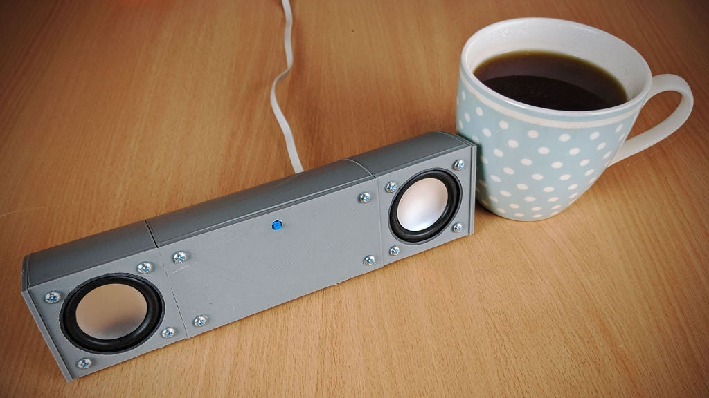 Picture of A Modular, USB Powered, Bluetooth Speaker System