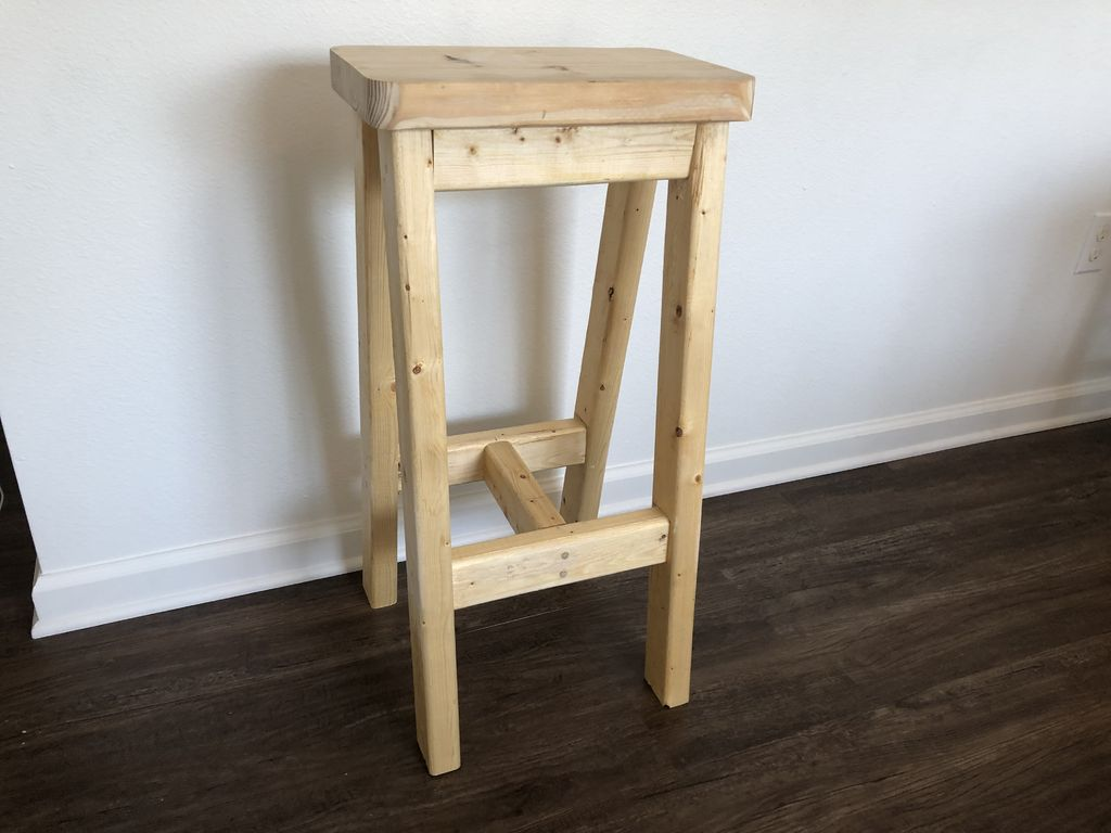 Picture of Here's a Pic of Your Unfinished Barstool