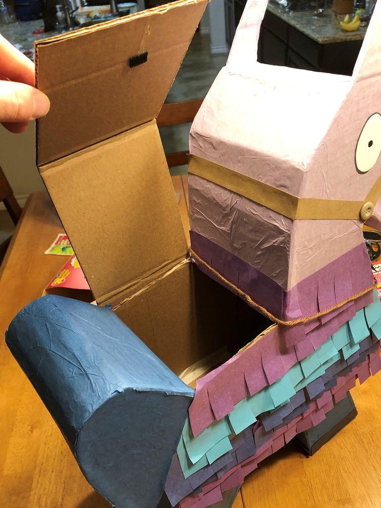 Picture of Make Your Own Fortnite Loot Llama (Pinata / Valentine's Box)