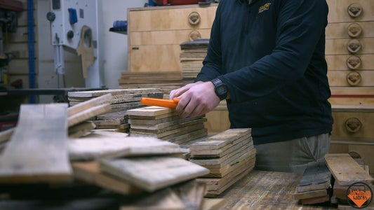 Preparing the Pallet Wood