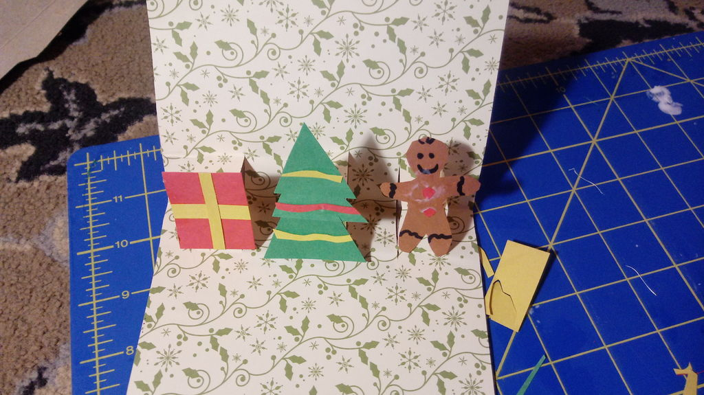 Picture of Make Decorations for Inside of Card